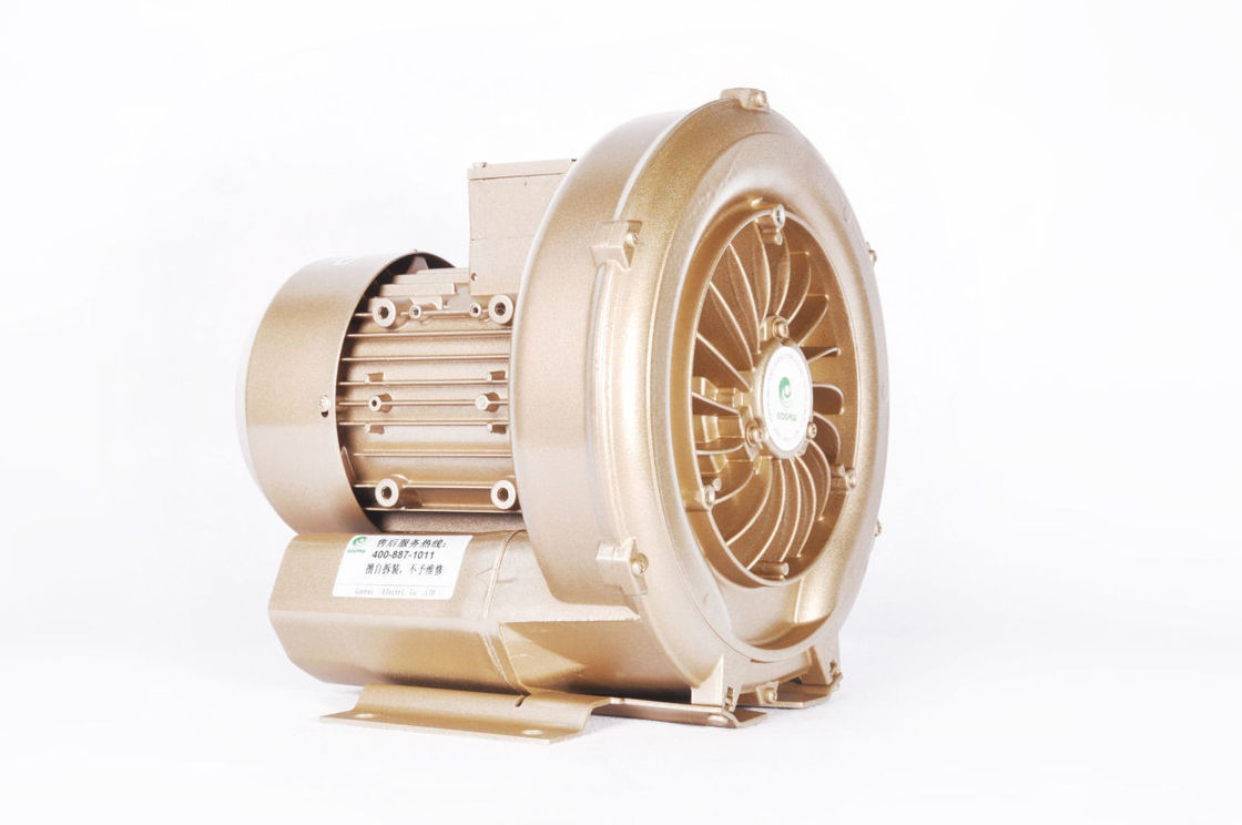 3 Phase High Pressure Ring Blower , 0.7 KW High Vacuum Oil Free Vacuum Pump